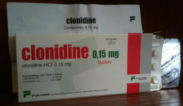 klonidin hipertónia kezelése Nordic walking és magas vérnyomás