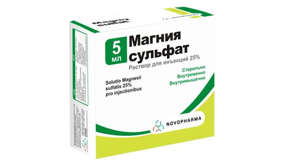 magnézium intramuszkuláris hipertónia)