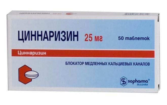 cinnarizin és magas vérnyomás)